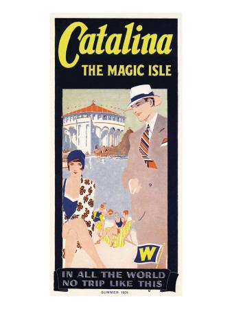 カタリーナ, カジノ, 1926 ウォールステッカー
