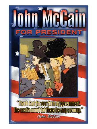 John McCain For President Wall Decal