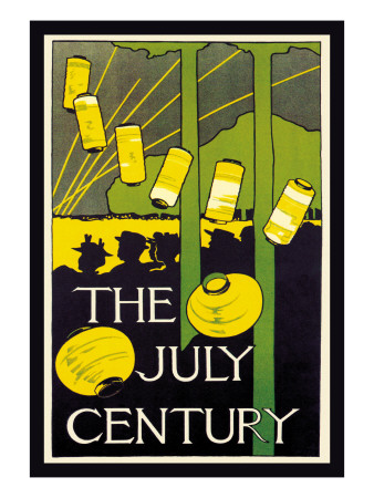 The July Century Wall Decal by Charles Herbert Woodbury