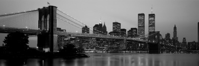 Brooklyn Bridge, Manhattan, New York City, New York State, USA Vinilo decorativo
