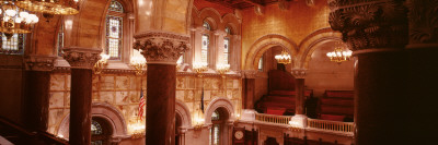 Senate Chamber, State Capital Building, Albany, New York, USA Wall Decal by  Panoramic Images