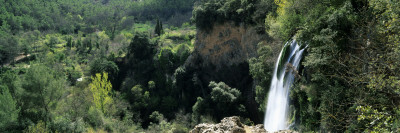 High Angle View of a Waterfall, Sillans Waterfall, Provence, France Wall Decal by  Panoramic Images