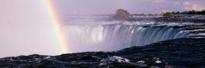 Rainbow over Niagara Falls, Niagara, Ontario, Canada Wall Decal by  Panoramic Images