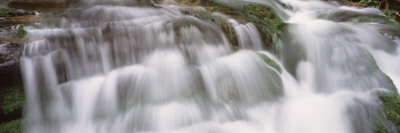 Cascading Waterfall, Great Smoky Mountains National Park, Tennessee, USA Wall Decal by  Panoramic Images