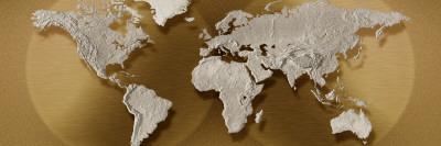 Mapa del mundo Vinilo decorativo
