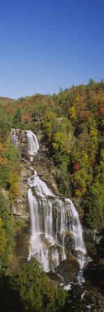 Whitewater Falls, Nantahala National Forest, North Carolina, USA Wall Decal by  Panoramic Images