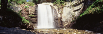 Waterfall in the Forest, Pisgah National Forest, Brevard, North Carolina, USA Wall Decal by  Panoramic Images