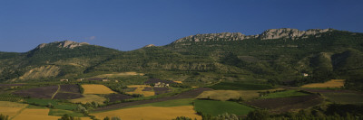 Lavender Fields, Mount St. Michael, Normandy, France Wall Decal by  Panoramic Images