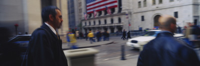 New York Stock Exchange, Wall Street, Times Square, Manhattan, New York City, New York, USA Wall Decal