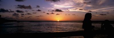 Sunset over the Sea, Bokeelia, Pine Island, Lee County, Florida, USA Wall Decal by  Panoramic Images