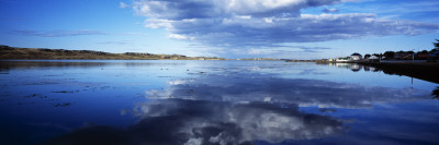 Clouds over the Ocean, Stanley Harbor, Falkland Islands Wall Decal by  Panoramic Images