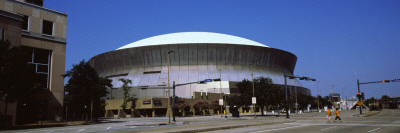 View of a Stadium, Louisiana Superdome, New Orleans, Louisiana, USA Wall Decal by  Panoramic Images