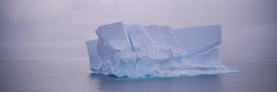 Iceberg Floating on Water, Ross Sea, Antarctica Wall Decal by  Panoramic Images