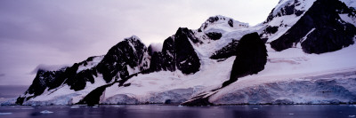 Mountains Covered with Snow, Lemaire Channel, Antarctica Wall Decal by  Panoramic Images
