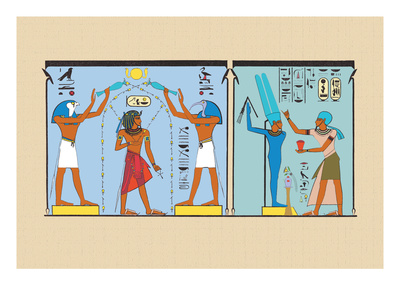 Amenoplis Being Purified Wall Decal by J. Gardner Wilkinson