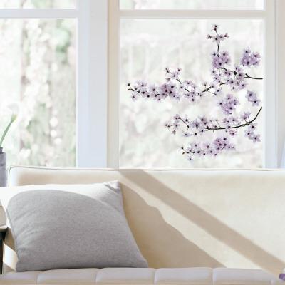 Cherry Blossom Window Decal Sticker Window Decal