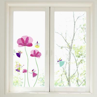 Little Fairies Window Decal Sticker Okenní nálepky