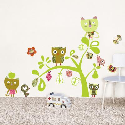 Cats, Owls, birds Veggoverføringsbilde