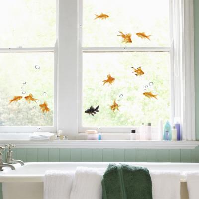 Balıklar Pencere Çıkartmaları