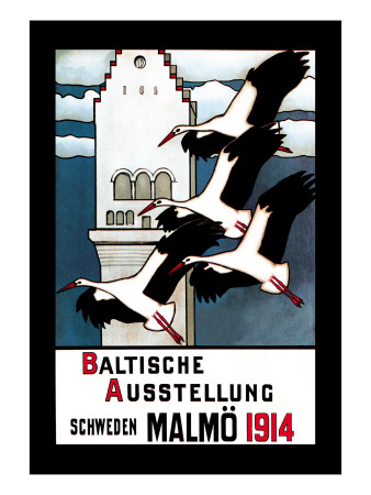 Baltische Ausstellung Wall Decal by E. Norlind
