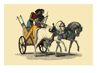 Egyptian Chariot Wall Decal by J. Gardner Wilkinson