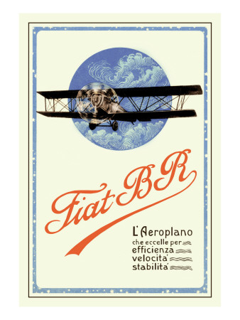 Fiat BR Wall Decal by C. Milano