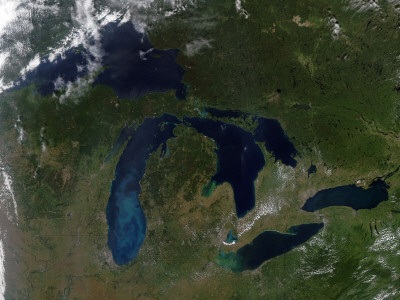 The Great Lakes Photographic Print by  Stocktrek Images