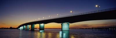 Bridge across the Sea, Ringling Bridge, Hart's Landing, Sarasota, Sarasota County, Florida, USA Wall Decal by  Panoramic Images