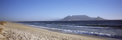 Sea with Table Mountain in the Background, Bloubergstrand, Cape Town, Western Cape Province, South  Wall Decal by  Panoramic Images