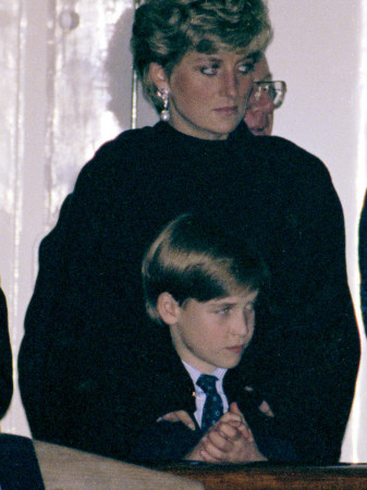 prince william and prince harry at diana. William and Prince Harry,