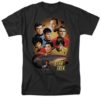 Star Trek-Heart Of The Enterprise Shirts