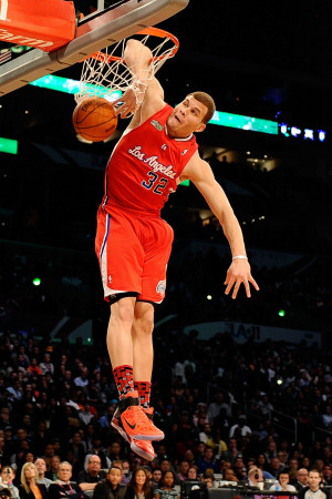 Sprite Slam Dunk Contest, Los Angeles, CA - February 19: Blake Griffin Photographic Print