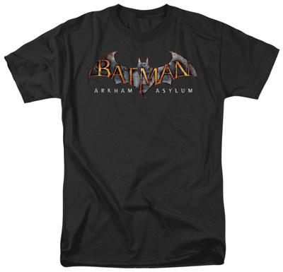Batman AA-Arkham Asylum Logo Shirts