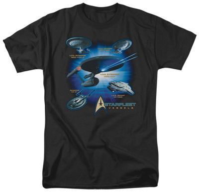 Star Trek - Starfleet Vessels T-shirts