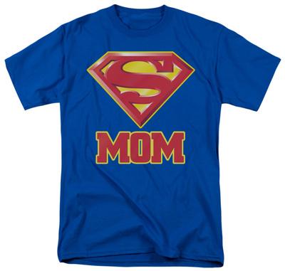 Superman-Super Mom Shirts