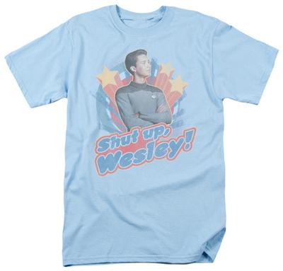 Star Trek-Shut Up Wesley T-Shirt