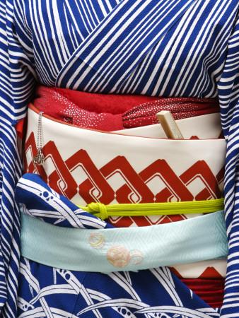 Detail of a Geisha's Sash (Obi), Pontocho Photographic Print by Frank Carter