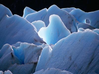Interlocking Seracs of the Glaciar Torre Photographic Print by Gareth McCormack