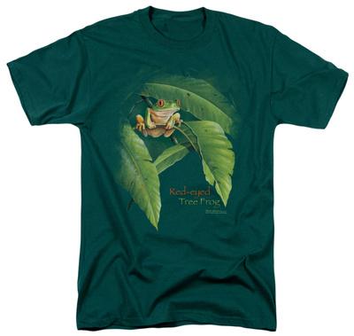 Wildlife - Red Eyed Tree Frog Shirt