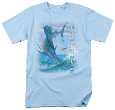 Wildlife - Leaping Sailfish Shirts
