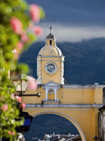 Arco De Santa Catalina Photographic Print by Diego Lezama
