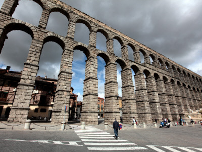 Roman Aqueduct (Aqueduct of Segovia) Photographie