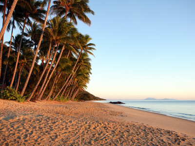 Dawn on Ellis Beach, Near Palm Cove Photographic Print by Andrew Bain