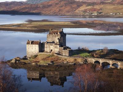 Eilean Donan Castle Photographic Print by Sean Caffrey