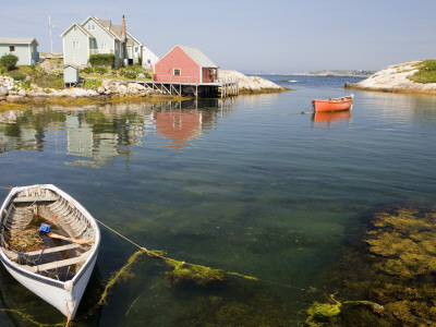 Peggy's Cove Harbour Photographic Print by Andrew Bain