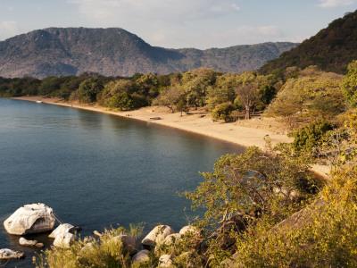 Beach in Lake Malawi National Park, Cape Maclear Photographic Print by Ariadne Van Zandbergen