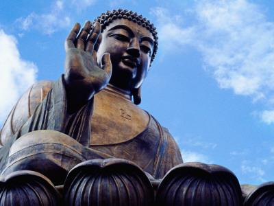 Tian Tan Buddha Photographic Print by Richard l'Anson