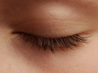 Close-Up of an Eyelash Photographic Print by Oliver Strewe