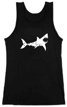 Juniors: Tank Top - Shark 'Bite Me' T-Shirt