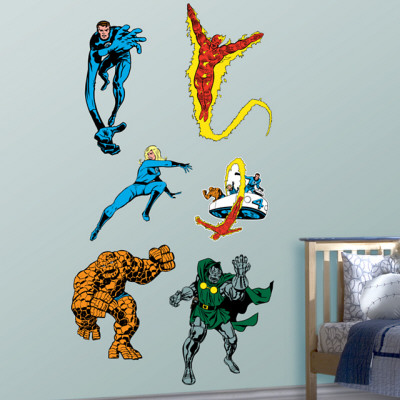 Classic Fantastic Four Wall Decal